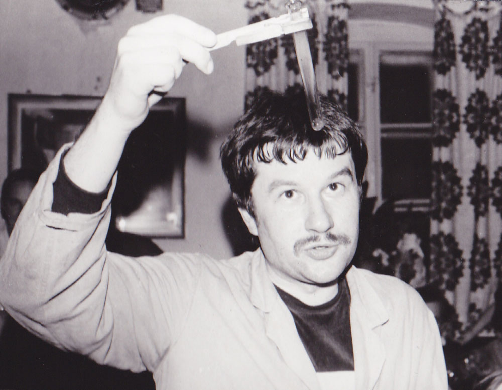 Wolfgang Bieger als Student 1982