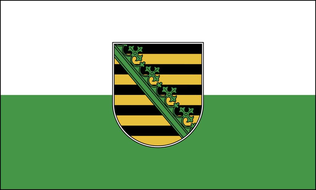 Dienstflagge Sachsen