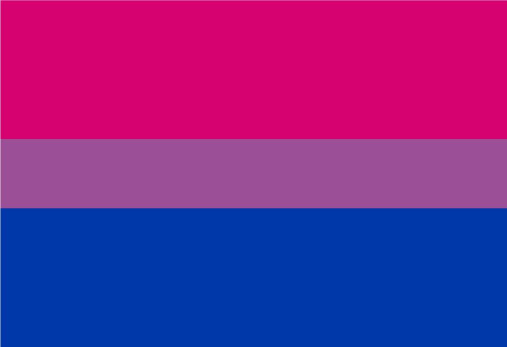Bisexuell Prideflag