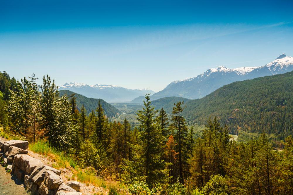 Landschaft British Columbia