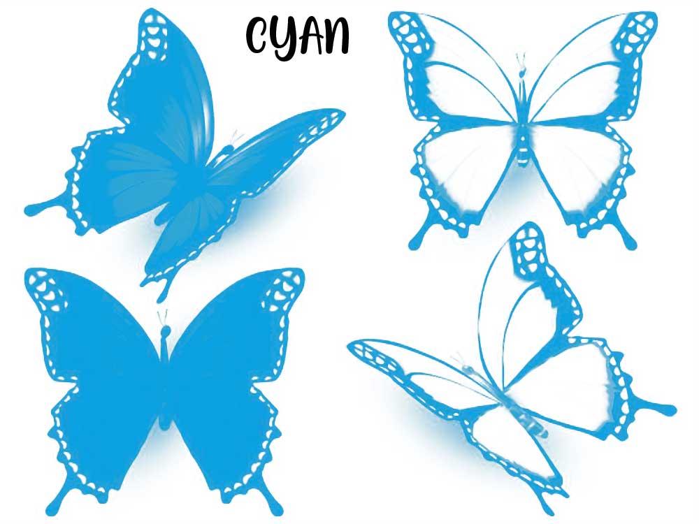 CMYK - Kanal Cyan