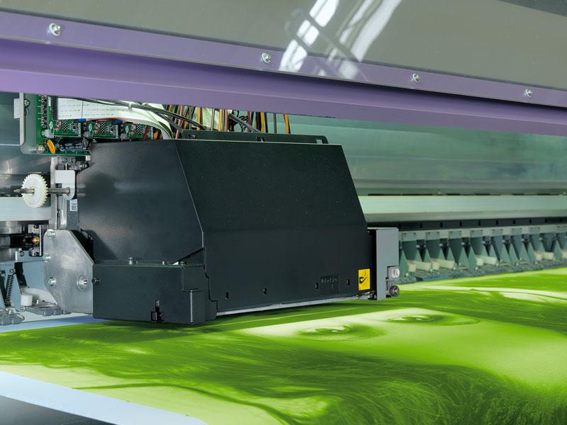 Moderne Digitaldruckmaschine