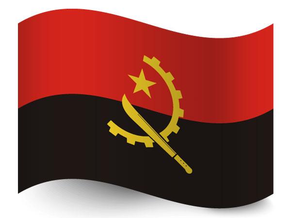 Flagge Angola