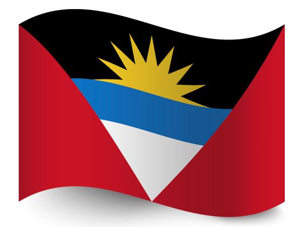 Fahne von Antigua und Barbuda