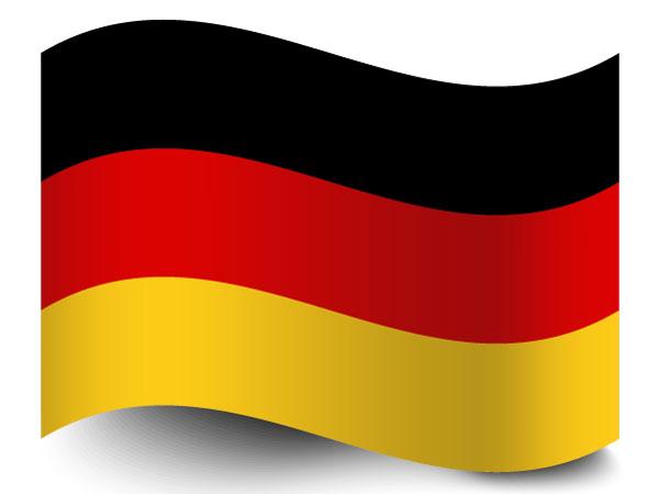 Die Fahne von Deutschland