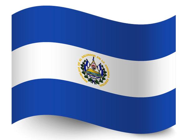Fahne / Flagge El Salvador