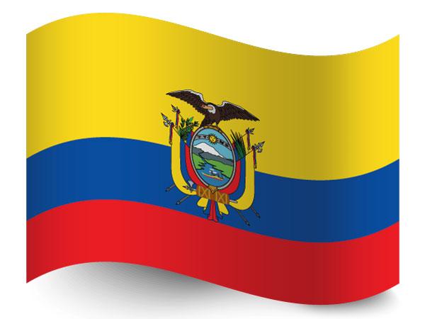 Flagge Equador
