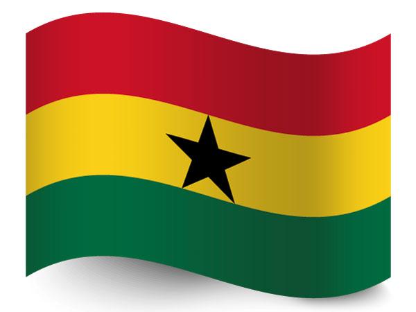 Fahne / Flagge Ghana