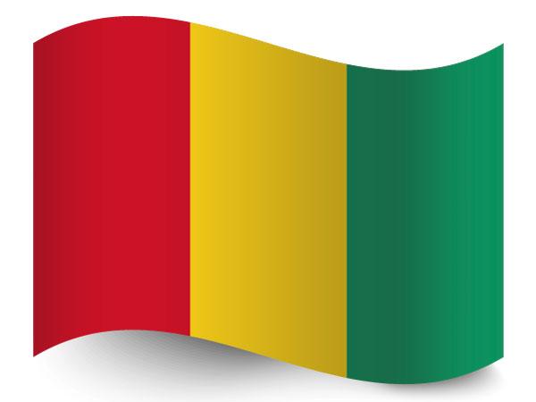 Fahne / Flagge Guinea