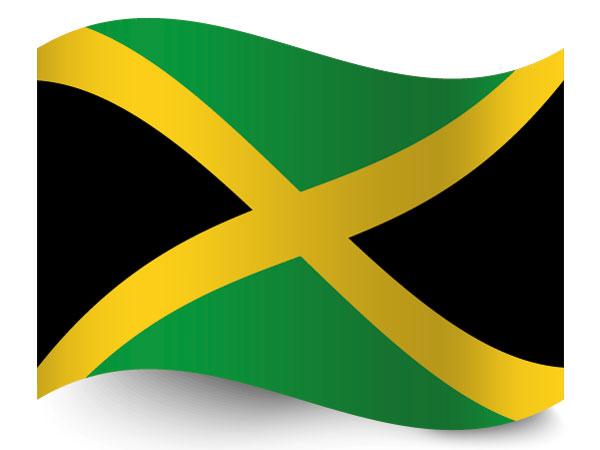 Die Fahne von Jamaika