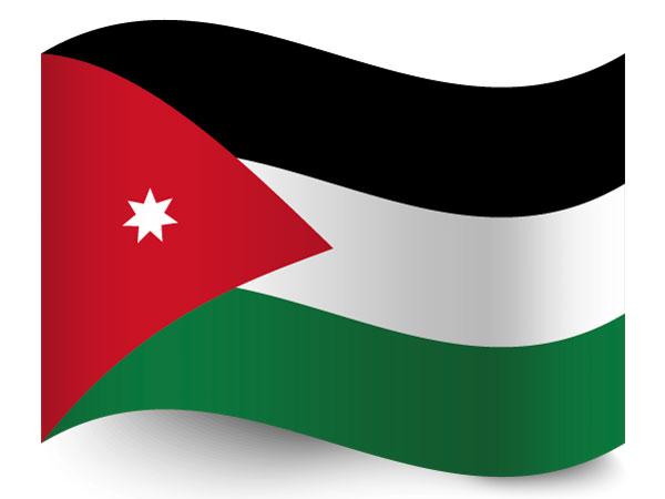 Fahne / Flagge Jordanien