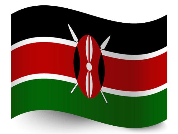 Fahne / Flagge Kenia