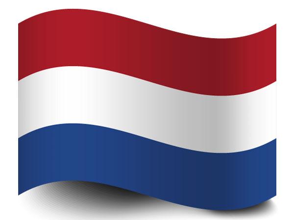 Die Fahne der Niederlande
