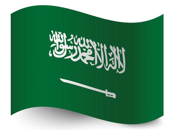 Flagge Saudi Arabien