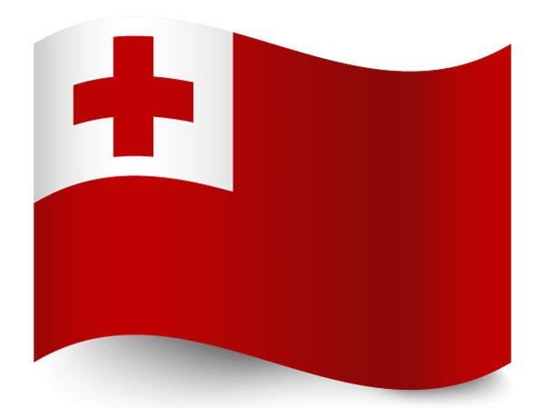 Fahne von Tonga