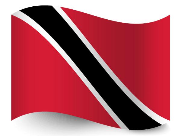 Fahne von Trinidad und Tobago