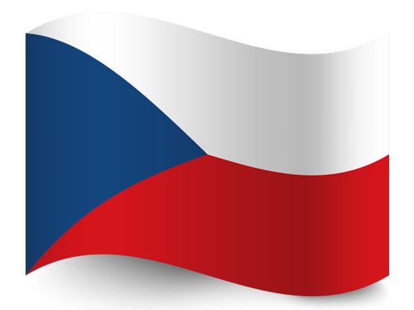 Fahne von Tschechien