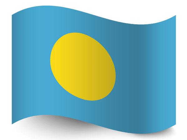 Flagge von Palau