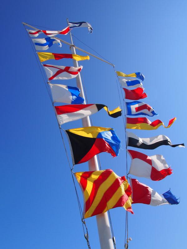 Flaggen zur See - Signalflaggen