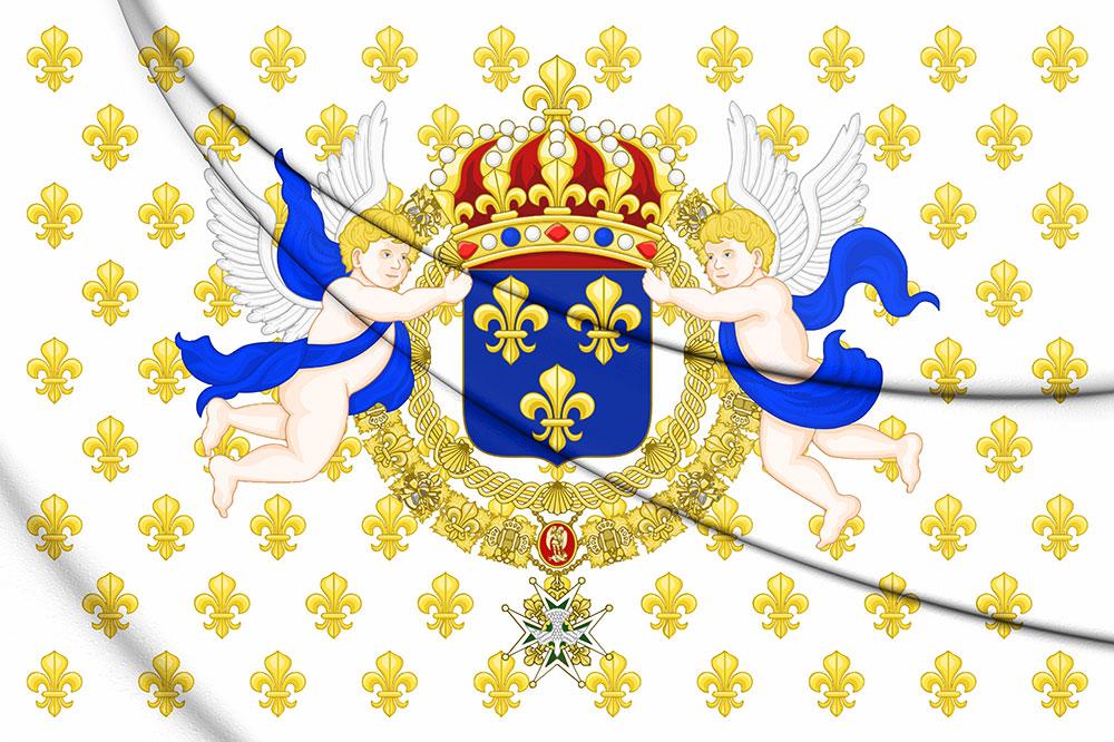 Frühere königliche Flagge