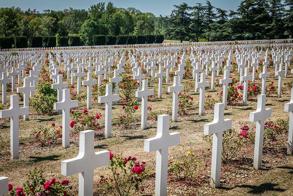 Grabkreuze in Verdun