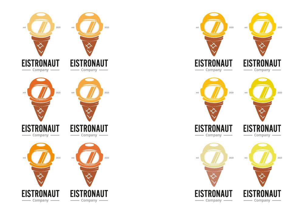 Farbwirkung im Logo, orange/gelb