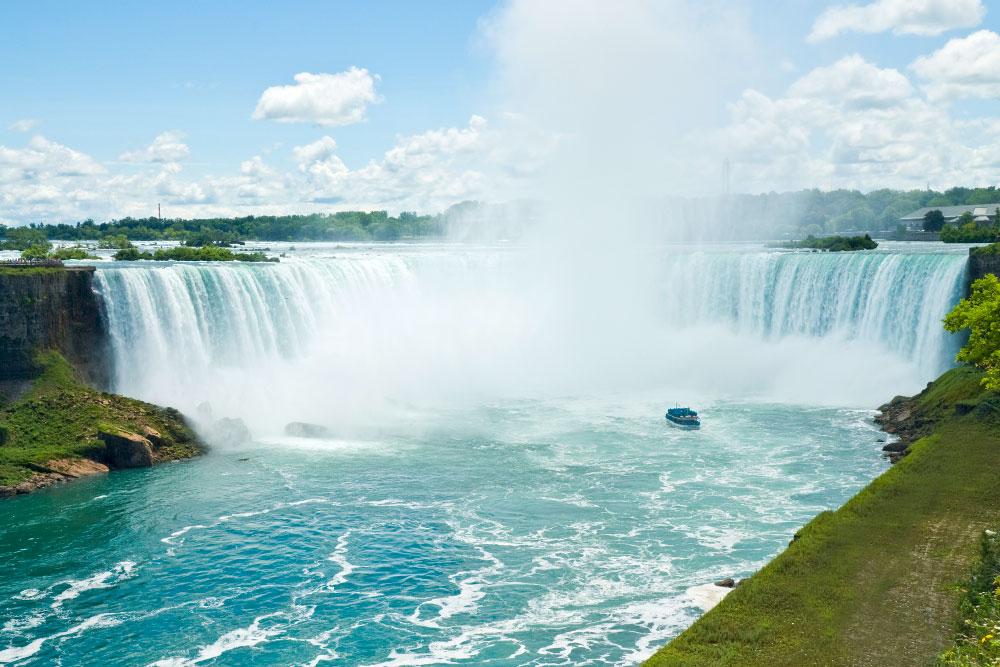 """Ontario, Niagarafälle, kanadische """"Horseshoe Falls"""""""