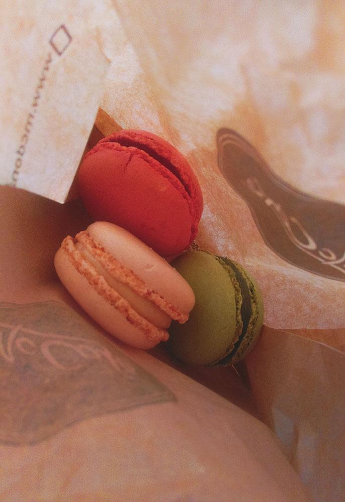 Original französische Macarons
