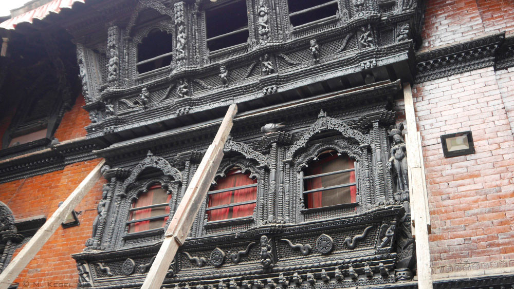 Kathmandu, Innenhof Palast der Kumari