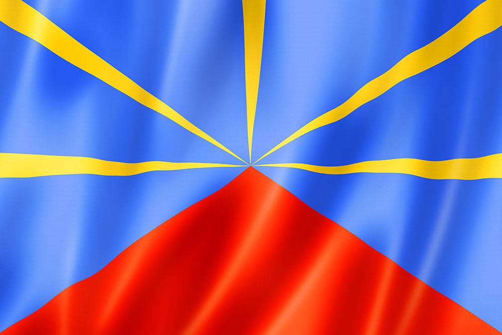 Regionalflagge Réunion