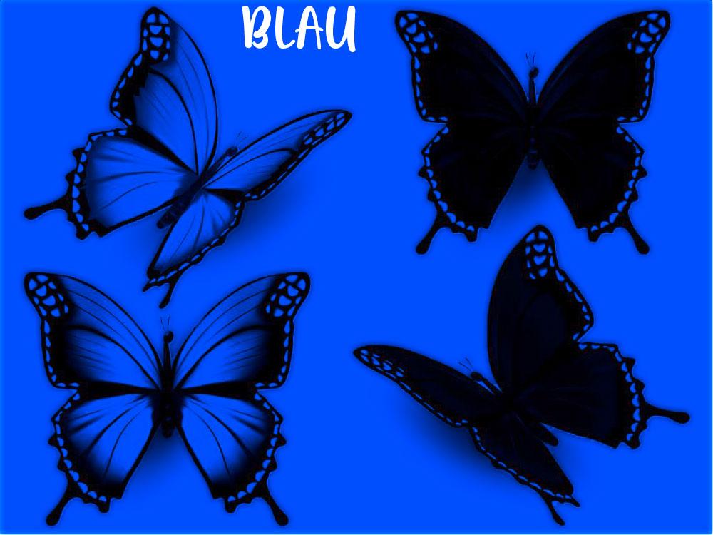 RGB - Kanal Blau