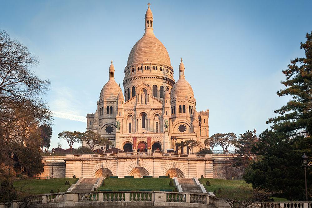 Sacre-Coeur auf dem Montmatre, Paris