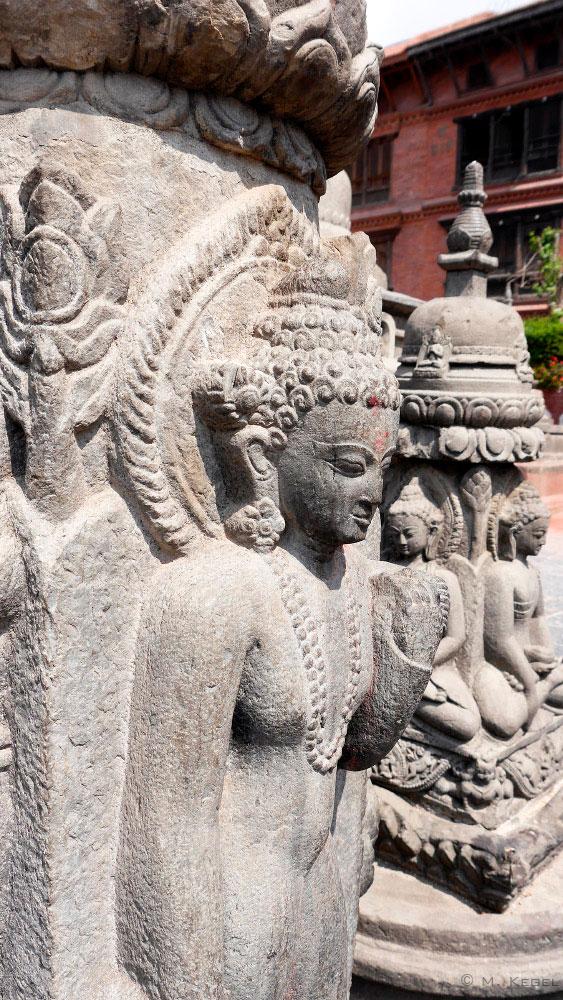 Kathmandu Swayambhunath Figur
