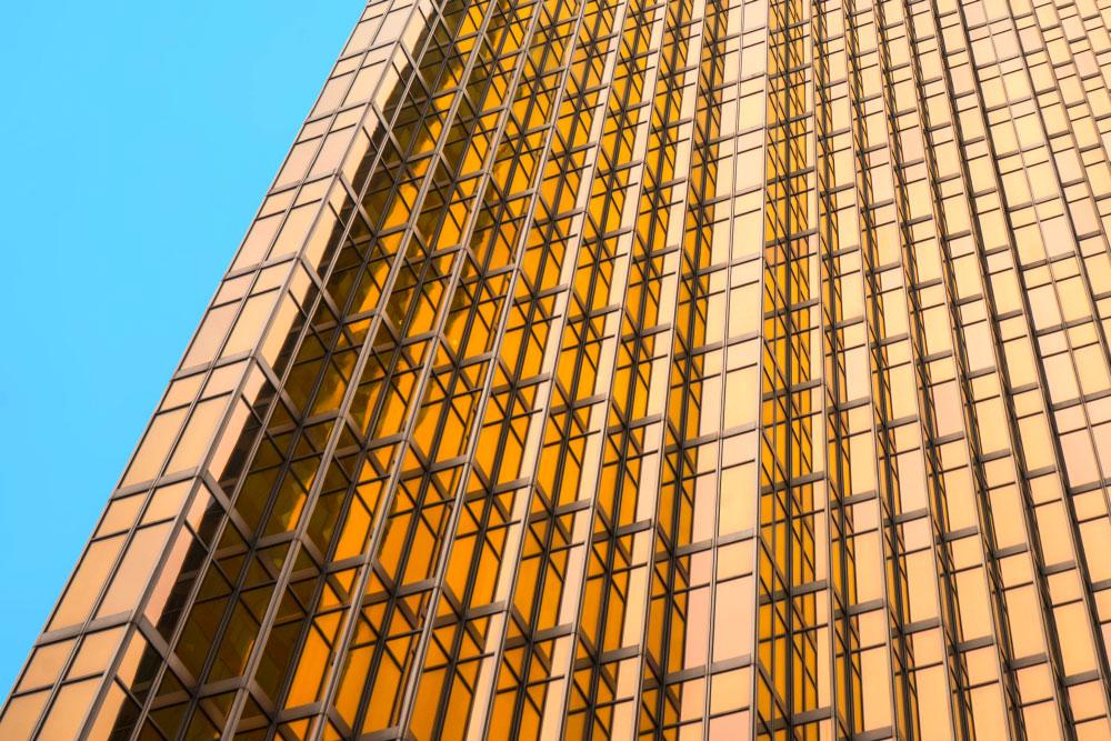 Goldene Verglassung der Royal Bank Plaza, Toronto