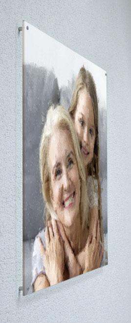 Wandbild Acrylglas