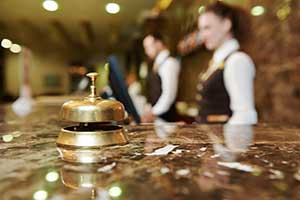 Werbemittel Hotel