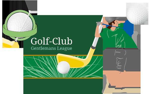 Golfclub Cliparts