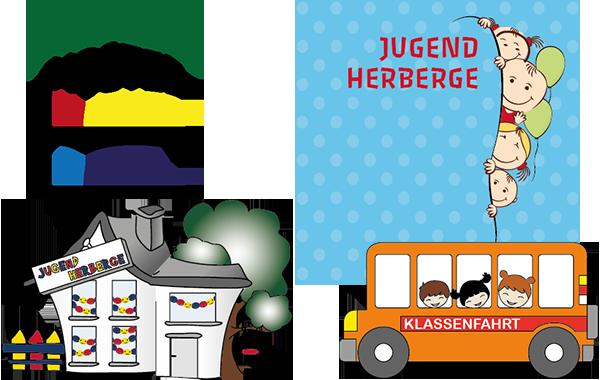 Jugendherberge Cliparts