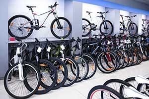 Werbemittel für Fahrradgeschäfte