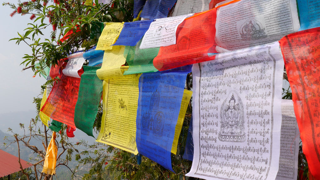 Flaggen der Welt - Nepal