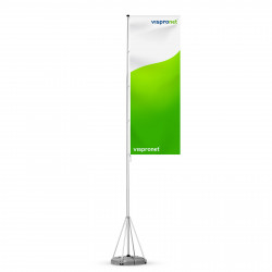 Mobiler Fahnenmast T-Pole® 100