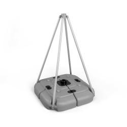 wasserbefüllbarer Fuß 70 Liter für mobile Fahnenmasten