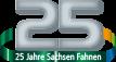 25 Jahre Sachsen Fahnen