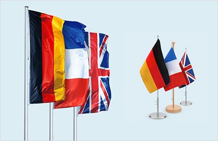 Nationalflaggen Overnight bestellen - zur Auswahl