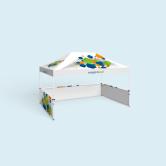 Faltzelt /Pavillon Basic & Select 3 x 4,5 m