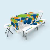 Tischdecken, Hussen & Auflagen für Klappmöbel
