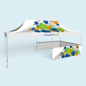 Faltzelt Select/Pavillon Select 4 x 8 m