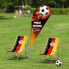 Fußball Werbemittel