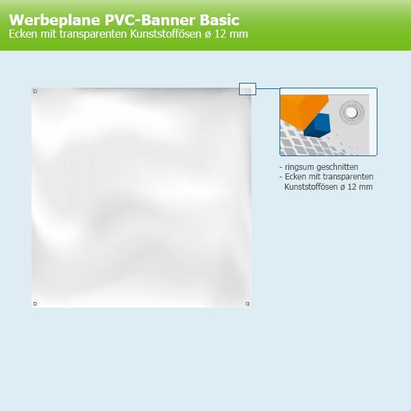 100x Kunststoffösen Ø12mm transparent witterungsbeständig Banner Werbeplane Ösen