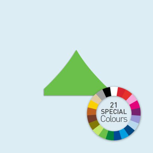 Zeltdach für Faltzelte Eco, Basic & Select 3 m, in 21 Sonderfarben erhältlich